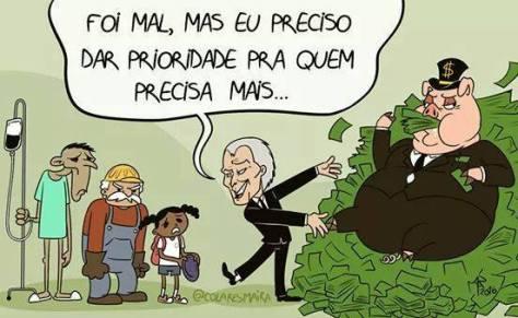Resultado de imagem para crescimento do brasil  com temercharge