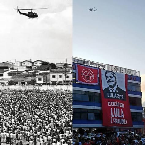 Lula transformou São Bernardo do Campo numa espécie de epicentro da crise  política brasileira em 06 e 07 de Abril de 2018 d24e1a7b63f55