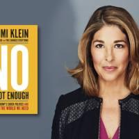 NÃO BASTA DIZER NÃO - A utopia de Naomi Klein para um outro mundo possível