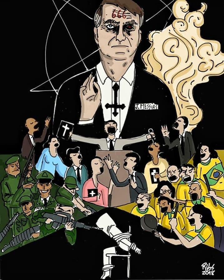 O TRIUNFO DE TÂNATOS: O fascismo Bolsonarista como encarnação da Necropolítica — A CASA DE VIDRO