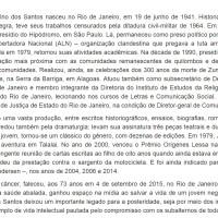 Zumbi e Quilombo dos Palmares explicados por Joel Rufino dos Santos