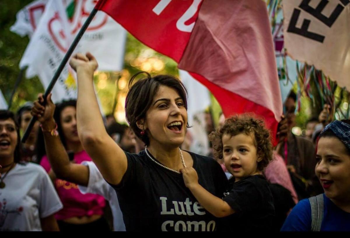"Manuela D'Ávila - ""Resistir: o desafio do Brasil"" (UFG, 12/03/2019) [Vídeo Completo]"